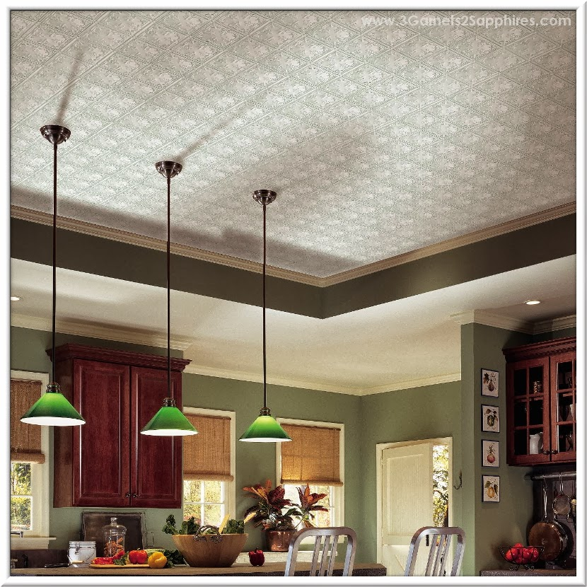 Drop Panel Metallaire Vine Ceiling - #MC