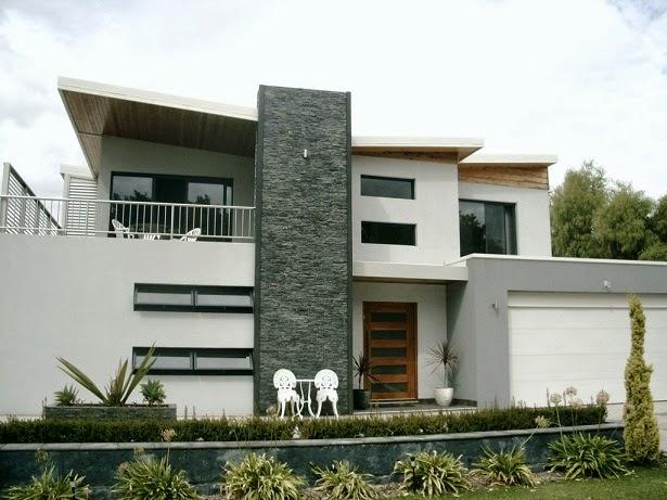 Fachadas de casas modernas fachadas de casas modernas con for Modelos de casas con terrazas modernas