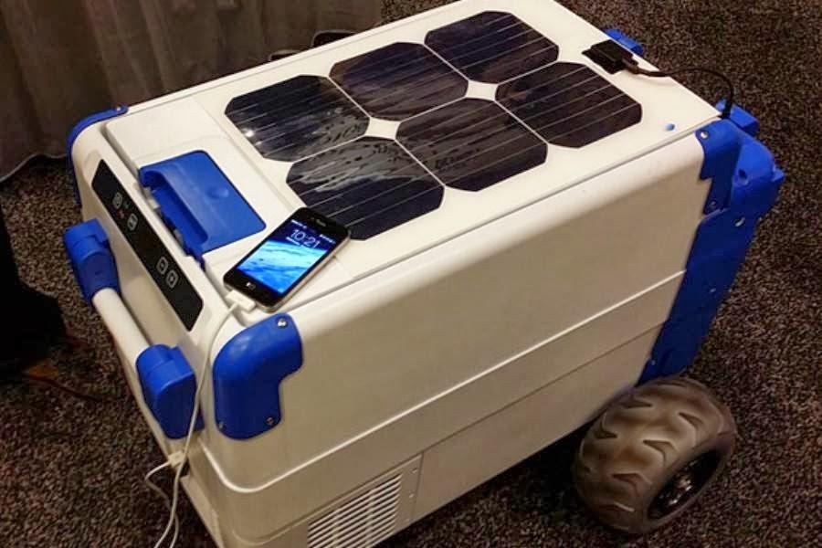 Cooler movido a energia solar chega a até -10º C e deixa a cerveja sempre gelada - e ainda dá para carregar o celular