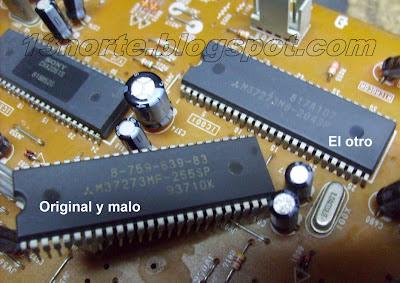 M37273MF-255SP y M37273M8-204SP