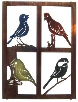 banksy: Metal Birds Wall Art Decor