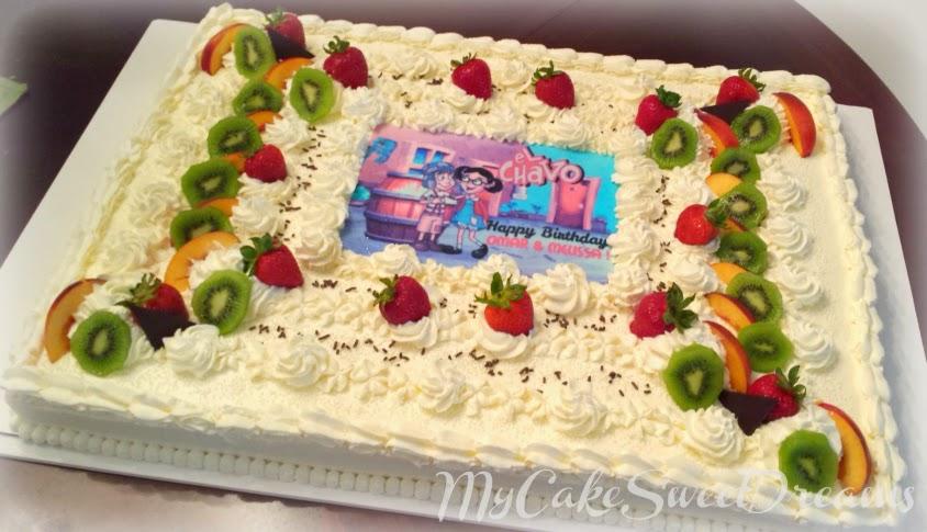 MyCakeSweetDreams: Tres Leches Birthday Cake