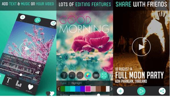 تحميل تطبيق Text On Video للكتابة على مقاطع الفيديولأجهزة ios