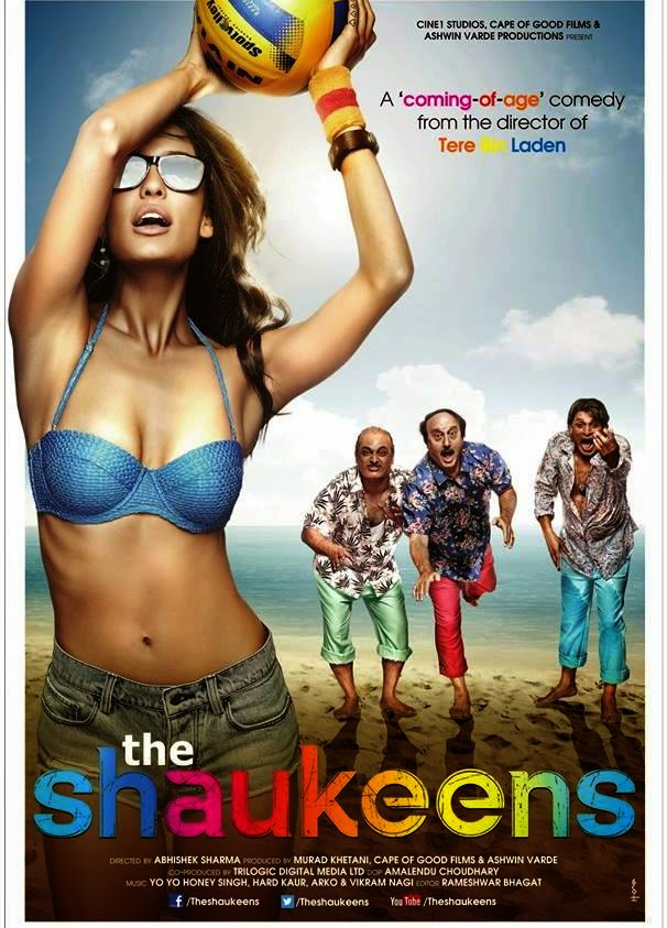 upcoming release of the film  the shaukeens [2014]