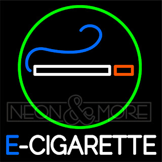 E-Cigarette Neon Sign