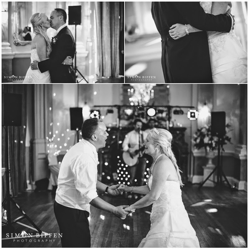 First dance at Danesfield House wedding