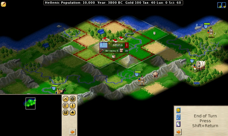 FreeCiv game PC