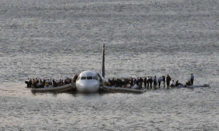 Airplane Crashed in Hudson River