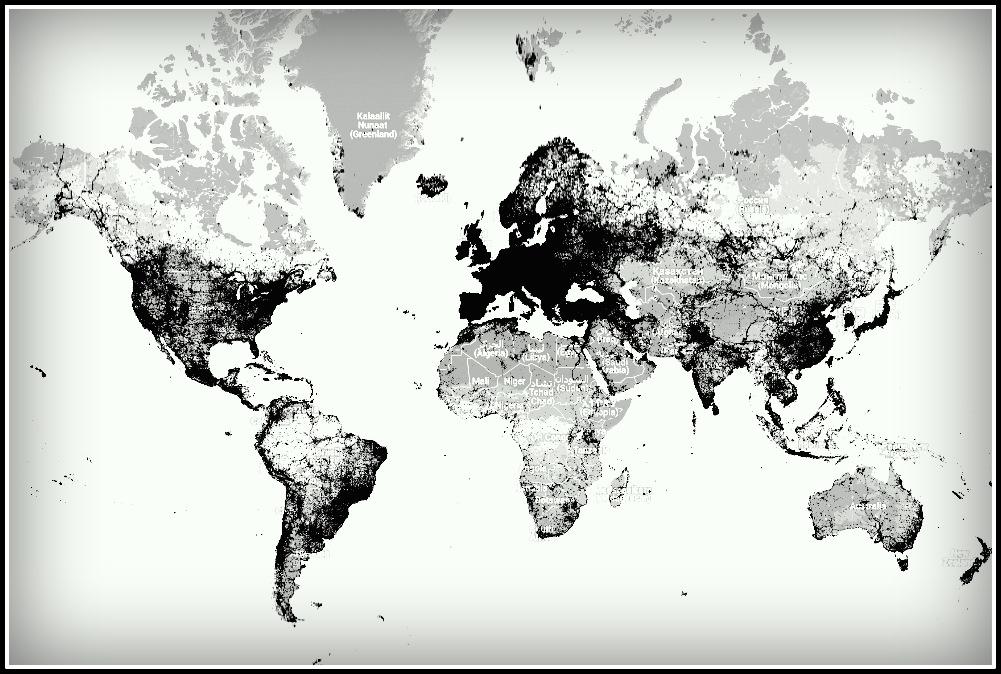 Najczęściej fotografowane miejsca na Ziemi (wg sightmap.com)