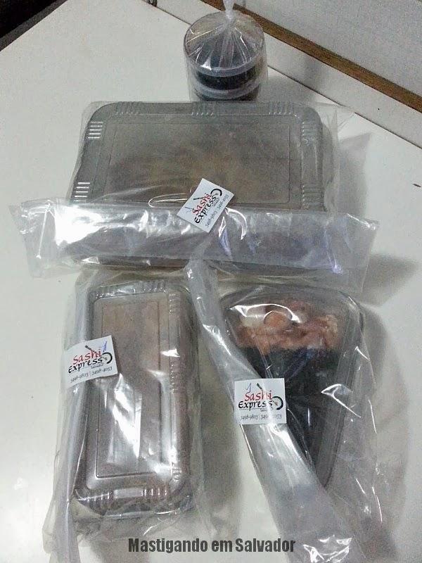 Sashi Express: Produtos embalados