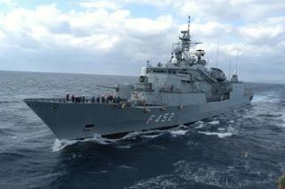 160 ημέρες το χρόνο σε αποστολές τα πληρώματα των πολεμικών πλοίων.