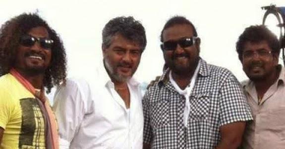 Lovable Images Veeram Movie Shooting Spot Stills Free