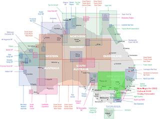 Australien Offroad 4x4 und track maps von HEMA