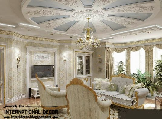 gypsum board ceiling for classic interior design classic italian interior gypsum molding - Ceiling Molding Design Ideas