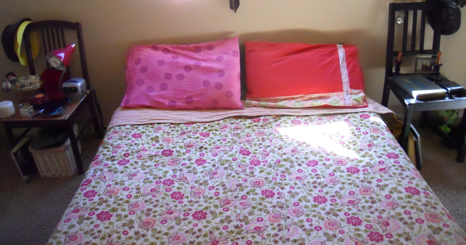 how to make a pillowcase with inner flap