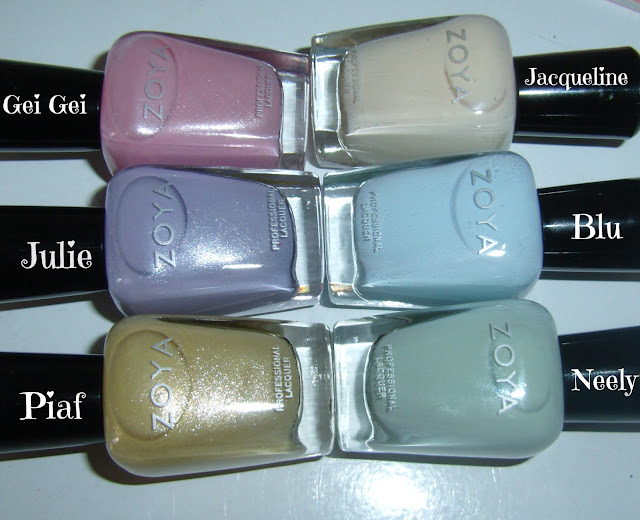 Zoya Lovely Collection Spring 2013