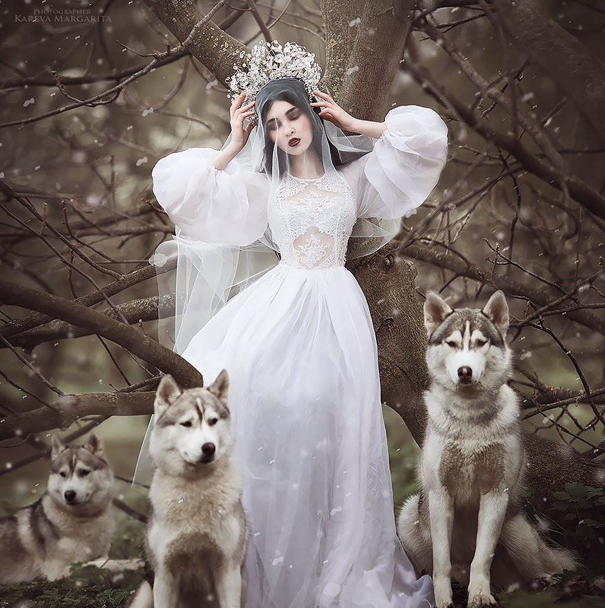 fantasy photography by margarita kareva - ghostly beauty