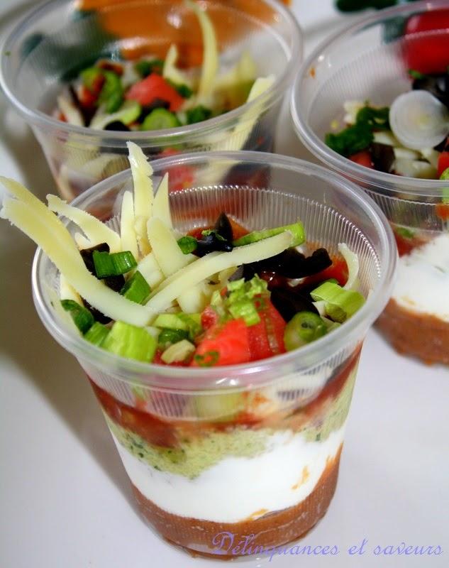 D linquances et saveurs verrines tex mex for Assaisonnement tacos maison