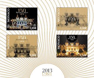 Monaco: 150th ANNIVERSARY OF MONTE-CARLO SBM - http://www.oetp-monaco.com/