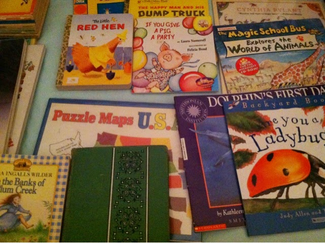 Homeschooling Essentials:  Books