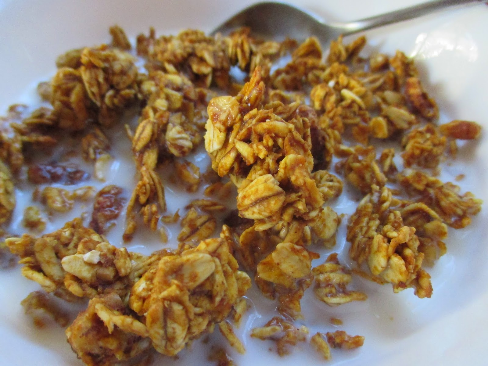 Bookcook: PUMPKIN SPICE GRANOLA