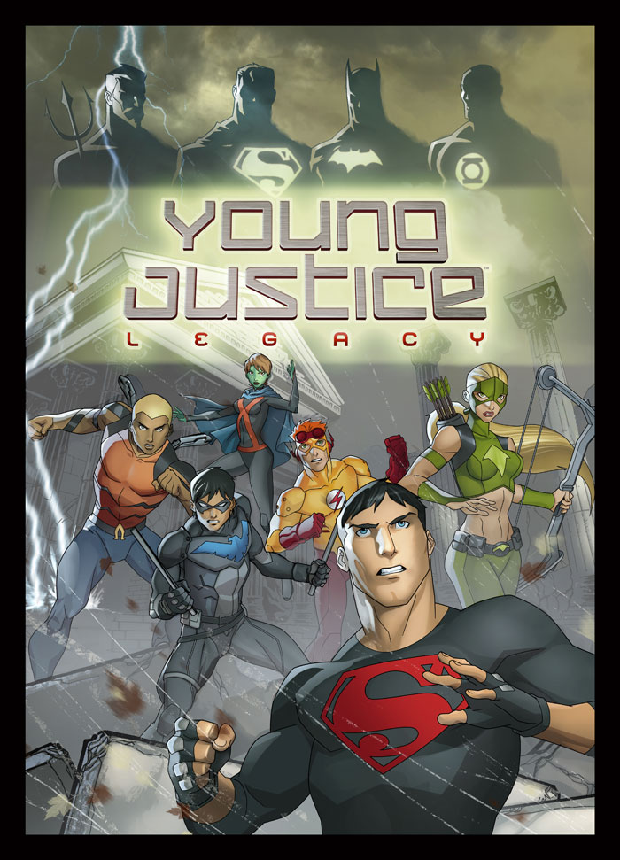 Poderoso Artwork de Young Justice League