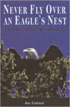 http://www.amazon.ca/Never-Fly-Over-Eagle-Nest/dp/1894384377/ref=sr_1_3?s=books&ie=UTF8&qid=1414712519&sr=1-3&keywords=never+fly+over+an+eagle%27s+nest