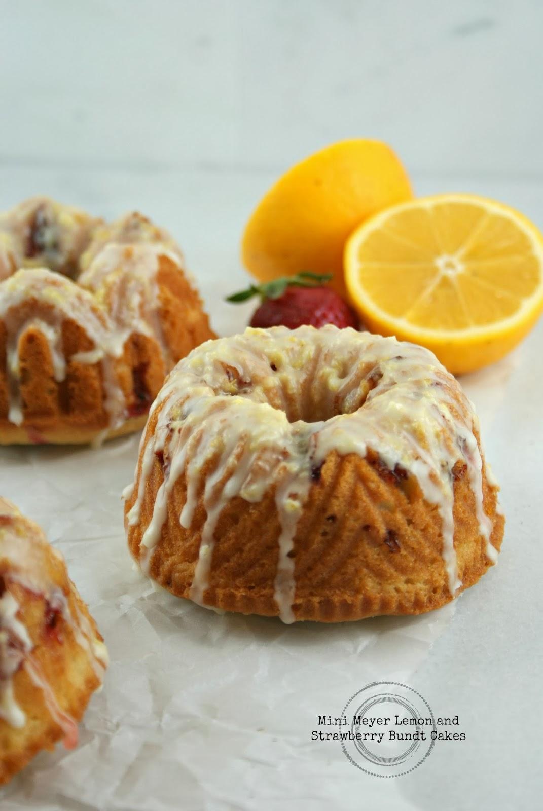 Mini Meyer Lemon Bundt Cakes Recipe — Dishmaps
