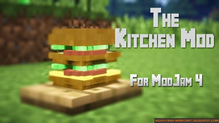 The Kitchen Mod para Minecraft 1.7.2/1.7.10