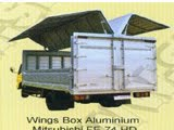 WINGS BOX ALUMUNIUM MITSUBISHI FE 74 HD