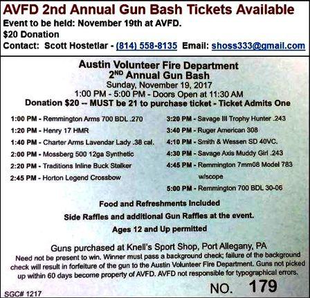 11-19 Austin VFD Gun Bash