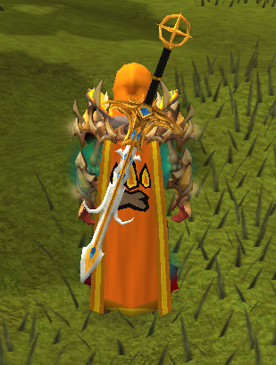 And My Newly Trimmed Divination Cape