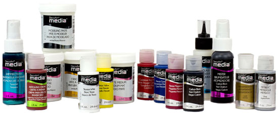 DecoArt Media Products