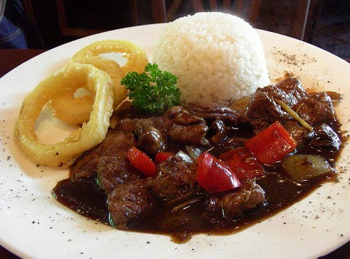 Resep steak daging sapi lada hitam (black pepper)