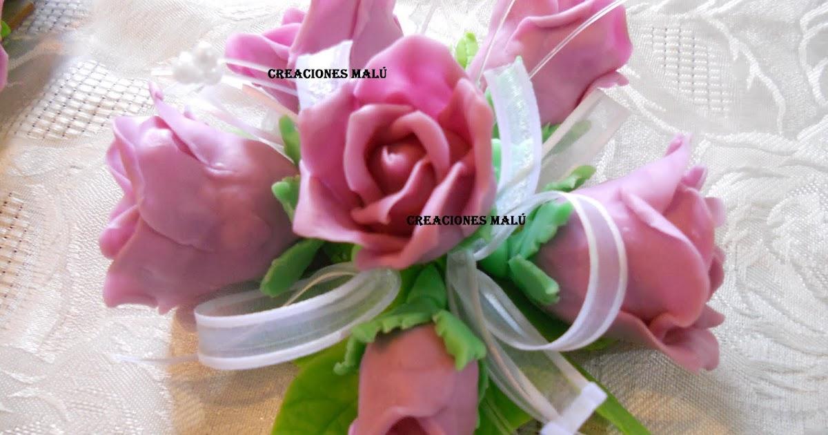 Frisadores, moldes de aluminio para flores de goma eva