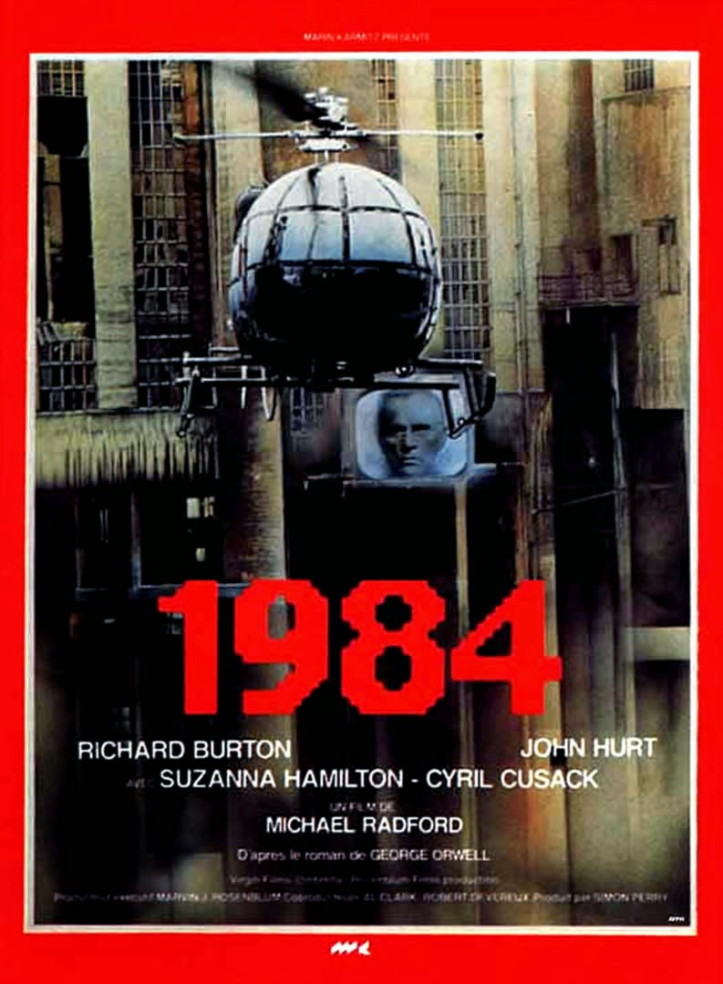 1984 (1984) Richard Burton & John Hurt