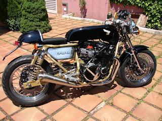 honda cb750 four cafe racer