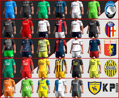 PES 2013 Kits Pack 2016 Serie A Tim by KP