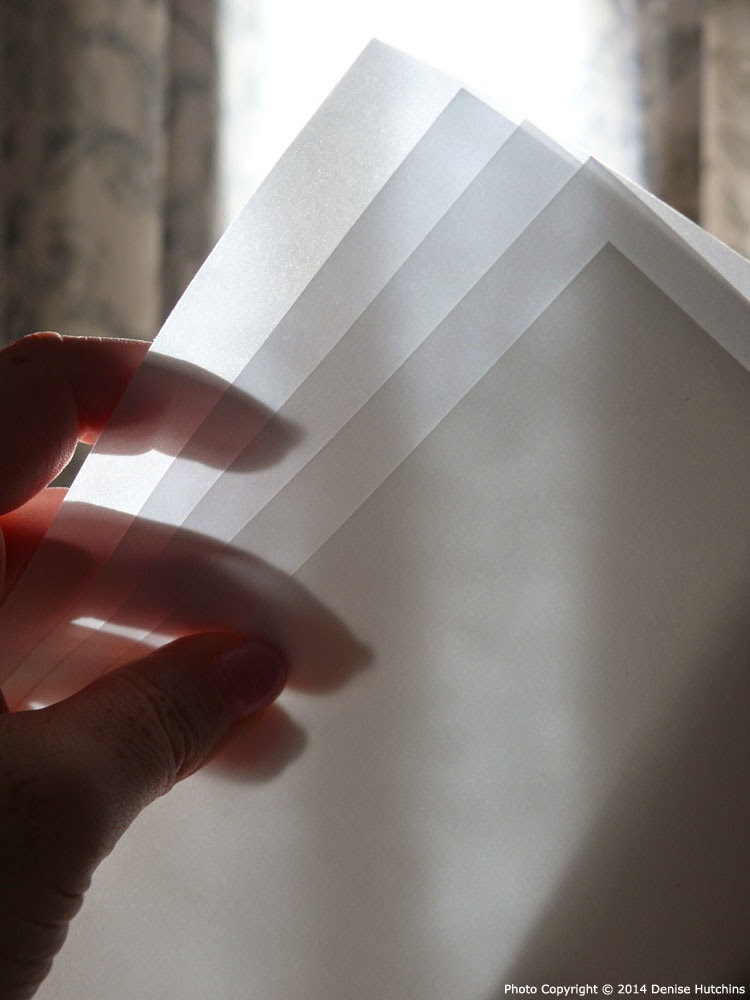 Translucent Clearprint Artist Vellum Sheets
