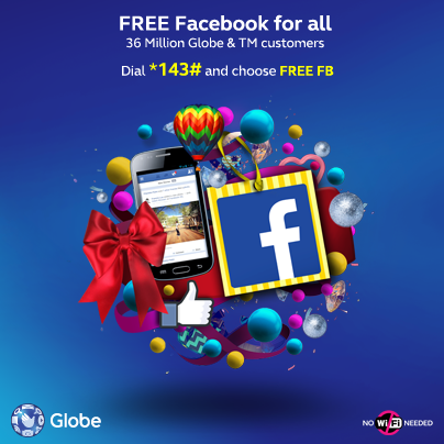 Globe Free Facebook is Extended until February 14
