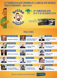 22º CONGRESSO NACIONAL DA APEC EM 2015 - De 08 a 11 de dezembro