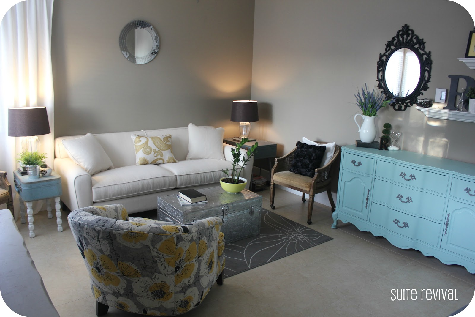 Suite Revival Living Room Reveal