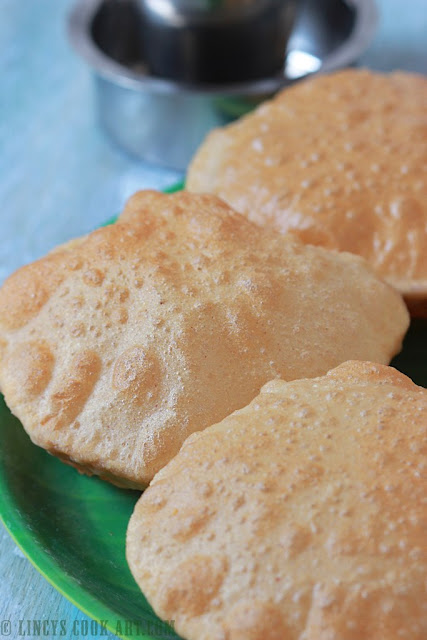 How to make Puffy Poori