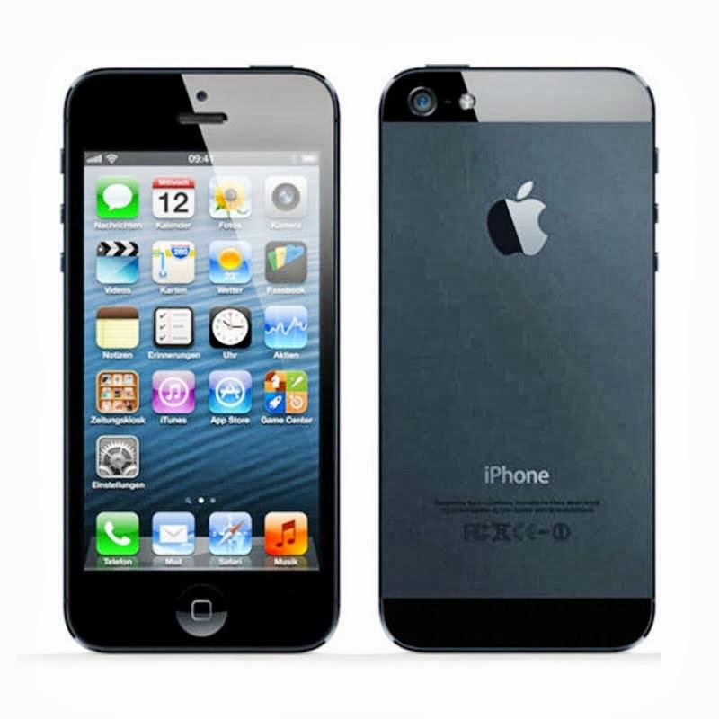 HARGA APPLE iPhone 5 16GB - Black Harga Dan Spesifikasi
