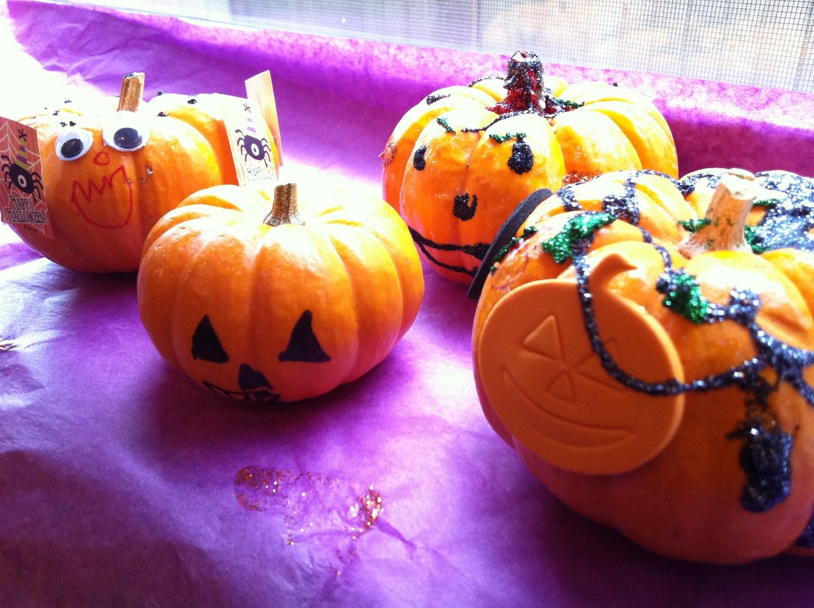 The Contemplative Creative Decorating Pumpkins & Mini Pumpkin Decorating Ideas For Kids - Elitflat