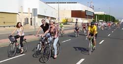PedaleUM/Paseo en bici por Murcia (video)