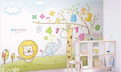 vẽ tranh tường phòng trẻ