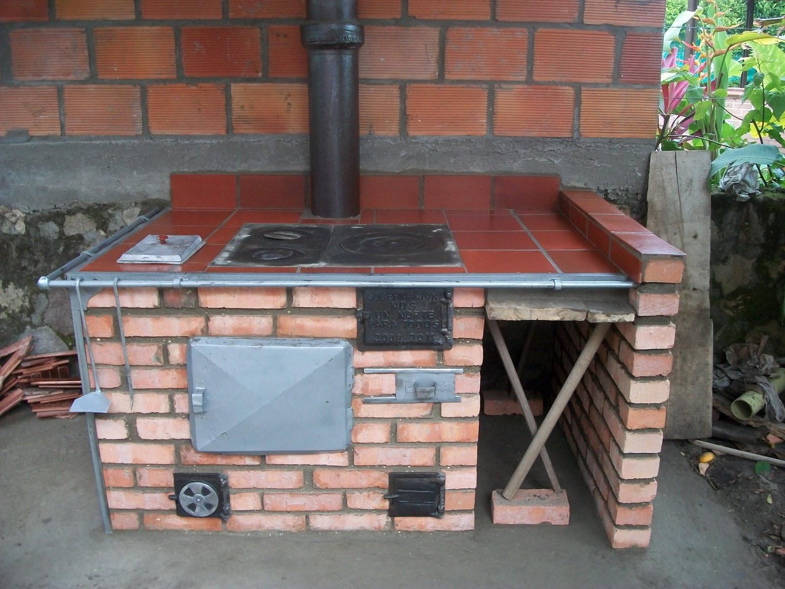 Estufas reguladoras de humo for Planos de cocinas mejoradas a lena