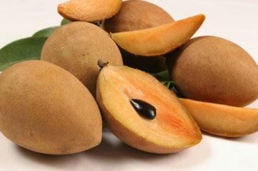 manfaat buah sawo, khasiat buah sawo, buah sawo matang