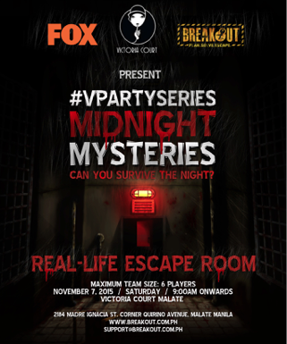 #VictoriaCourt X #BreakOutPH Escape Room